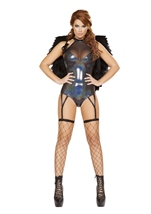 Outcast Angel Woman Costume