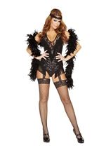 Adult 20s Party Flapper Woman Costume