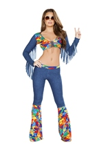 Groovy Love Child Woman Costume