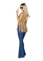 Free Spirit Hippie Woman Halloween Costume