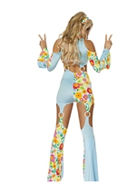 Adult Radical Hippie Woman Costume