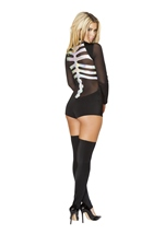 Jackie Skeleton Woman Halloween Costume
