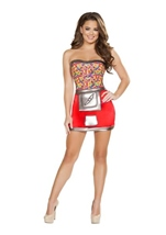 Adult Miss Jelly Kelly Woman Costume