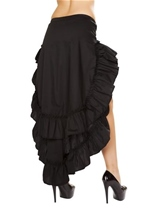 Tiered Ruffle Skirt Woman Halloween Costume