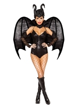 Vengeful Evil Dark Fairy Woman Costume