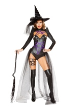 Adult Dark Witch Woman Costume