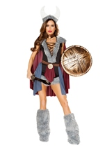 Shield Maiden Woman Roman Costume