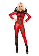 Fired Up Devil Woman Costume