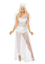 Sweet Angel Woman Costume