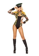 Army Girl Woman Costume