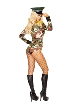 Adult Army Girl Woman Costume