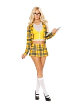 School Girl Woman Costume