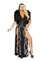 Midnight Angel Woman Costume