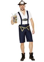 Oktoberfest Beer Bud Men Costume