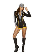 Race Car Diva Woman Costume