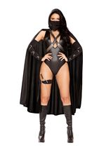 Ninja Villain Woman Costume