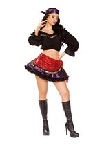 Traveling Gypsy Woman Deluxe Costume