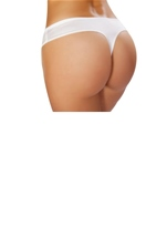 Adult Low Cut Shorts White