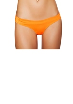 Low Cut Shorts Orange