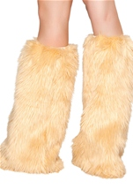 Adult Deluxe Fur Leg Warmer