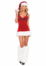 Flirt Santa Women Christmas Costume