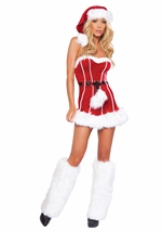 Naughty Santa Women Christmas Costume