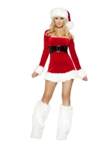 Santas Saint Women Christmas Halloween Costume