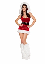 North Pole Babe Women Christmas Halloween Costume