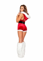 Adult Christmas Fantasy Women Romper Costume