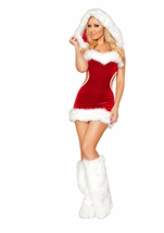 Miss Sexy Claus Women Christmas Costume