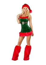 Santas Envy Woman Costume