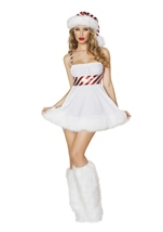 Candy Cane Cutie Women Sexy Christmas Costume