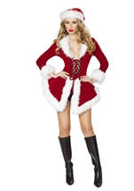 Chic Santa Women Sexy Christmas Costume