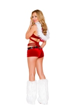 Adult Santas Vixen Woman Costume