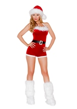 North Pole Christmas Woman Costume