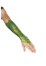 Mermaid Fingerless Gloves Sea Foam Green