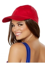 Baseball Style Hat Red