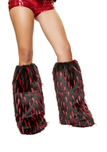 Deliciously Devilish Fur Leg Warmers