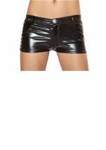 Metallic Black Short