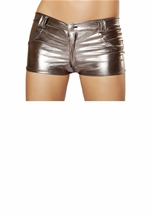 Metallic Gun Metal Short