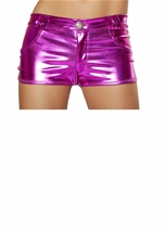 Metallic Hot Pink Short