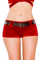 Velvet Stretch Woman Short