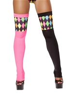 Two Tone Lusty Laughter Stockings