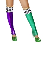 Jester Leggings Green Purple
