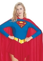 Supergirl Woman Superhero Costume