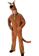 Deluxe Scooby Doo Men Costume