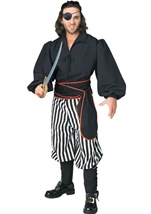 Buccaneer Men Deluxe Pirate Costume