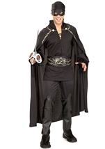 Men Zorro Bandit Costume