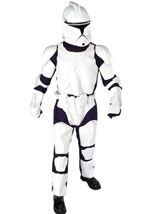 Clone Trooper Star Wars Deluxe Men Costume