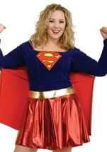 sc 1 st  The Costume Land & Adult Plus Size Supergirl Costume | $51.99 | The Costume Land